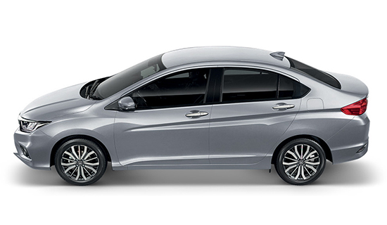 Lunar-Silver-Metallic Honda City