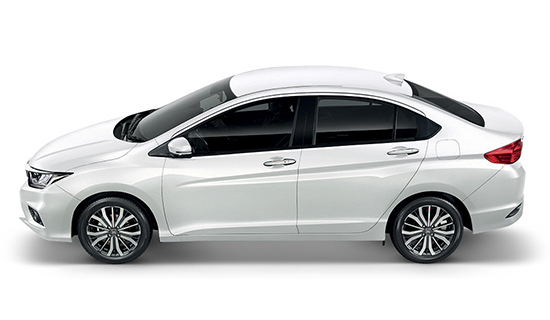 White-Orchid-Pearl Honda City