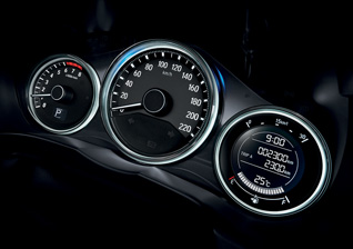share-illuminate-dials Honda City