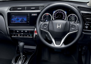 sv-steering-wheel-gear-knob Honda City