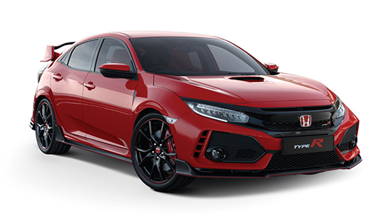 Rallye-Red Honda Civic Type R