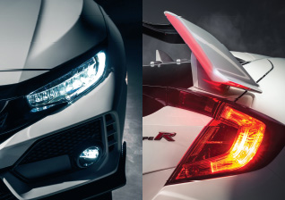 LED-headlights Honda Civic Type R