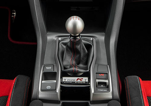 Aluminium-Shift-Knob Honda Civic Type R