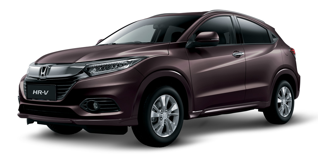 Brownish-Amethyst Honda HR-V
