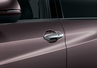 lx-Chrome-Door-Handles Honda HR-V