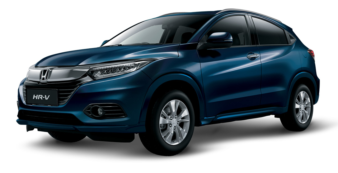 Midnight-Blue-Beam-Metallic Honda HR-V