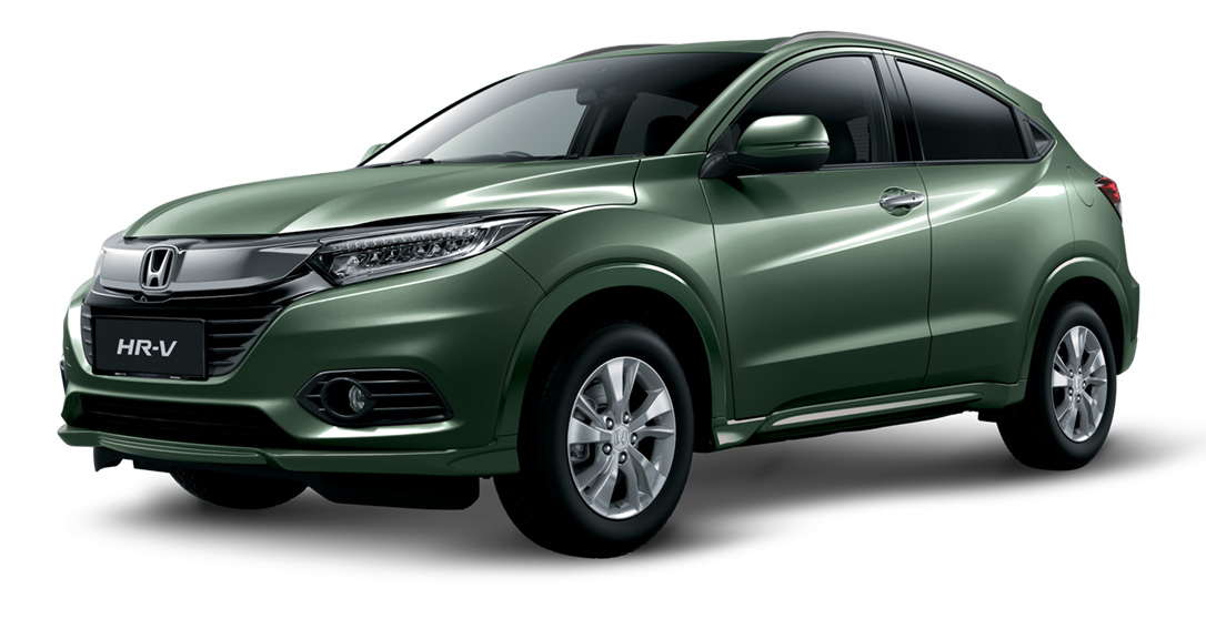 Silver-Mist-Green-Metallic Honda HR-V