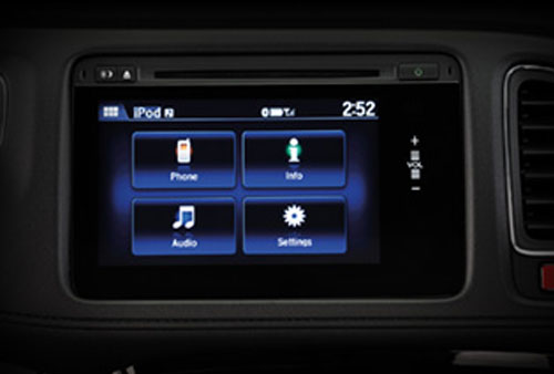 HRV_LX_audio Honda HR-V