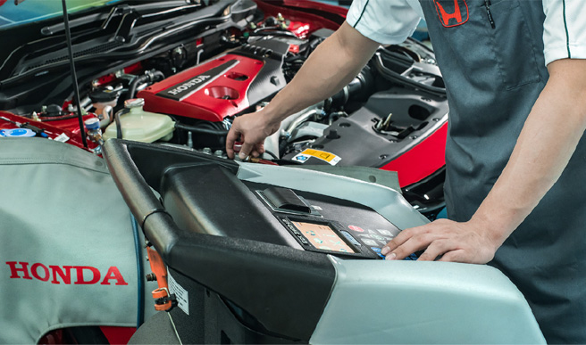 Air-Condition-Inspection Honda - Kah Motor - One Stop Service