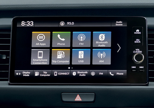 9-inch-Infotainment-System Honda All-New Jazz