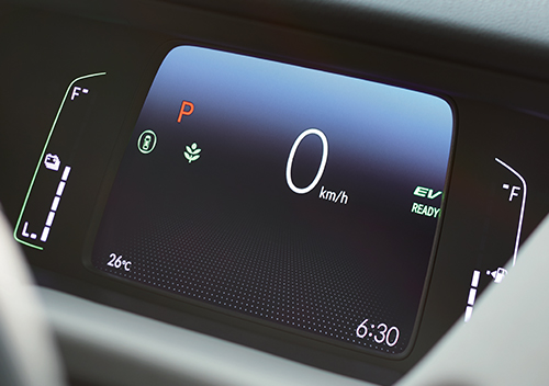 Hyrbid-TFT-Display Honda All-New Jazz