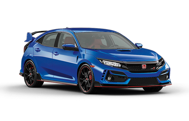 Brillant_Sporty_Blue Honda Civic Type R