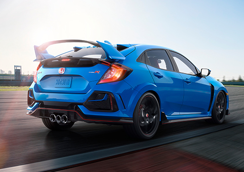 Aerodynamic-Design Honda Civic Type R