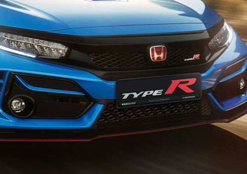 Grille-and-Bumper Honda Civic Type R