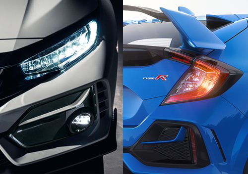 LED-Headlights-LED-Daytime-Running-Lights--LED-Tail-Lights Honda Civic Type R