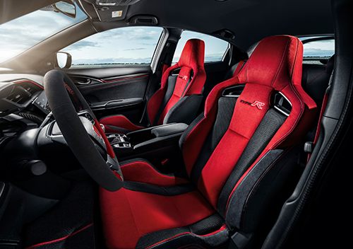 Bucket-Seat-with-Steering-Wheel_New Honda Civic Type R