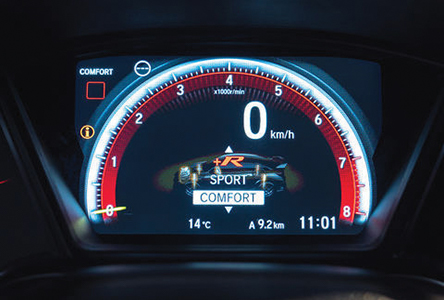 Driving_mode_-_Comfort_mode Honda Civic Type R