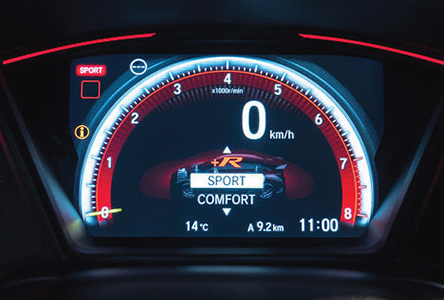 Driving_mode_-_Sport_mode Honda Civic Type R